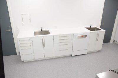 klinik med udstyr